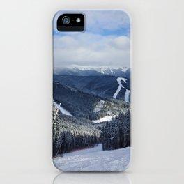 Carpathians View iPhone Case