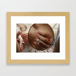 Check 1 2 Framed Art Print