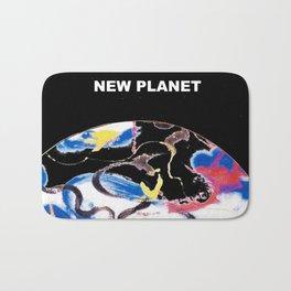 NEW PLANET     by    Kay Lipton Bath Mat