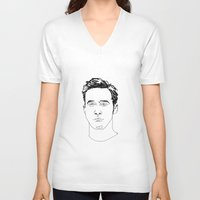 ryan gosling V-neck T-shirts featuring Ryan Gosling by Caron Lee