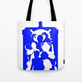 Doctor Who - TARDIS Monsters Tote Bag