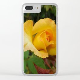 Yellow Rose of TEXAS Clear iPhone Case