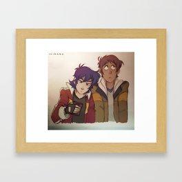 Lean On Framed Art Print