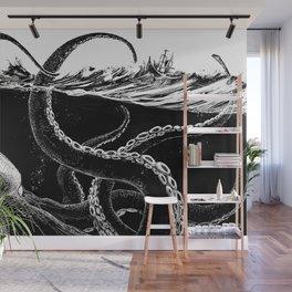 Kraken Rules the Sea Wall Mural