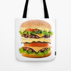 Cheeseburger YUM Tote Bag