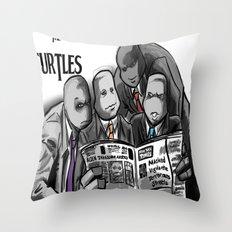 Turtles 4 ... Throw Pillow