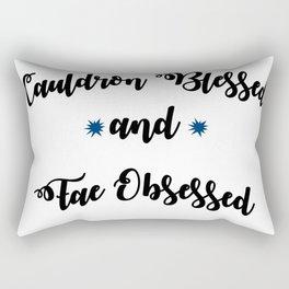 Cauldron Blessed ACOTAR Rectangular Pillow