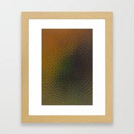 Amazonian Pattern - III Framed Art Print