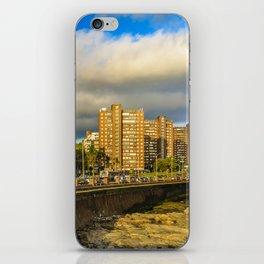 Coastal Urban Scene, Montevideo, Uruguay iPhone Skin