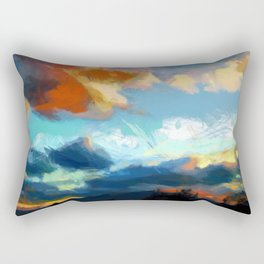ASHOKAN SUNSET Rectangular Pillow