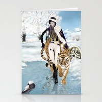 napoleon Stationery Cards featuring Napoleon by Maihunaa