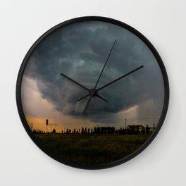 Mega Storm Wall Clock