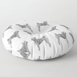 Shar pei Floor Pillow