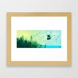 Hopes for Travel Framed Art Print