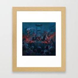 jon bellion glory sound prep tour 2019 2020 execute simukasama Framed Art Print