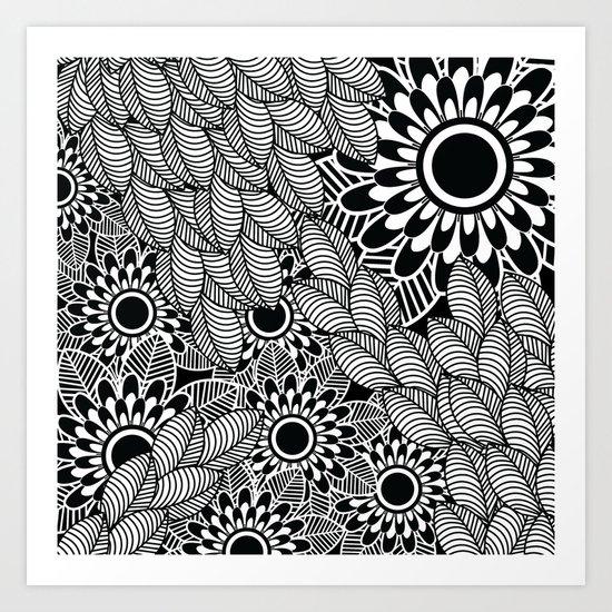Pattern K Art Print