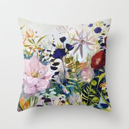 For The Beauty of the Earth Throw Pillow