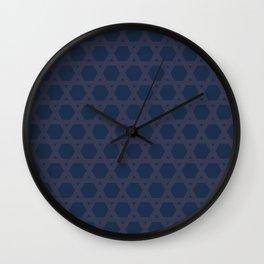 "tenugui""kagome"" Wall Clock"