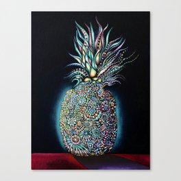 Transcendent Pineapple Canvas Print