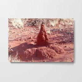 Termite Mound - Outback Australia Metal Print