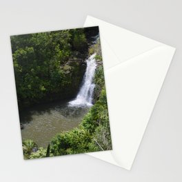Waterfall in Maui Stationery Cards