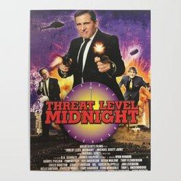 Geng Threat Level Midnight Poster