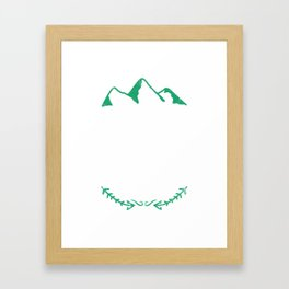 Hiking Gift Framed Art Print