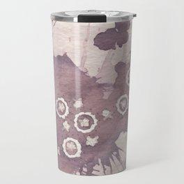 Polka Fleur Travel Mug