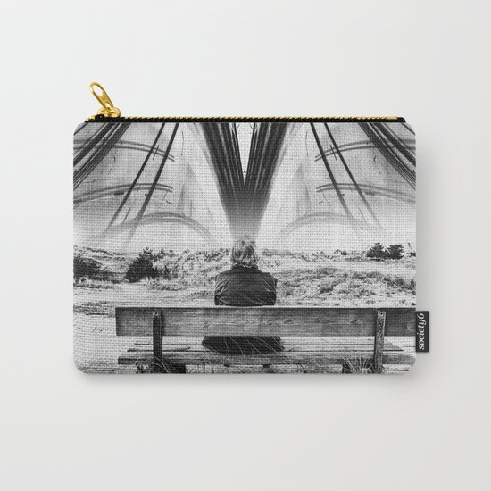 Mind Circus - White Carry-All Pouch