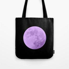 LAVENDER MOON // BLACK SKY Tote Bag