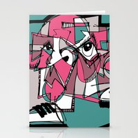 sneaker Stationery Cards featuring Sneaker Guy by 5wingerone