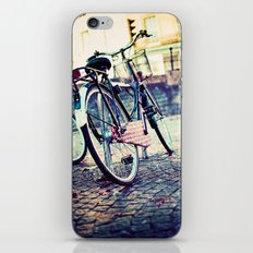 Vintage Bike iPhone & iPod Skin