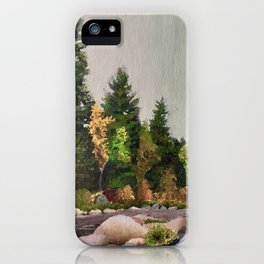 Upstate New York Gorges iPhone Case