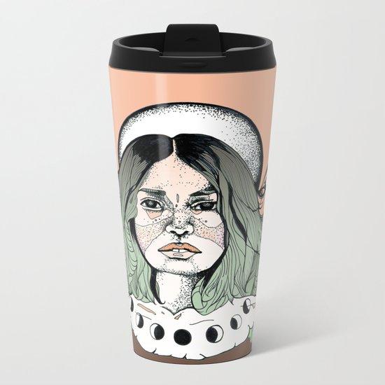 Magic Moon Metal Travel Mug