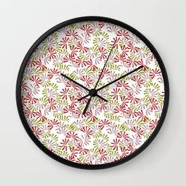Cinnamon Bonsai Wall Clock