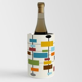 Mid-Century Modern Art 1.3 Wine Chiller