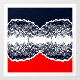 Seismic Art Print