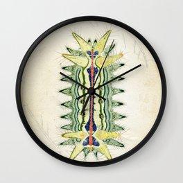caterpillar of slug moth Wall Clock