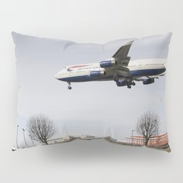 Jumbo Jet Photo Shoot Pillow Sham