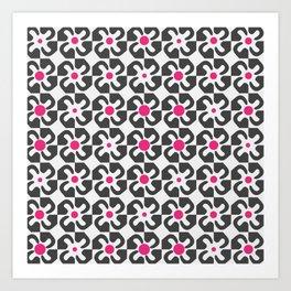 Gaudi Flower Art Print