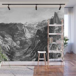 Tenaya Canyon Wall Mural