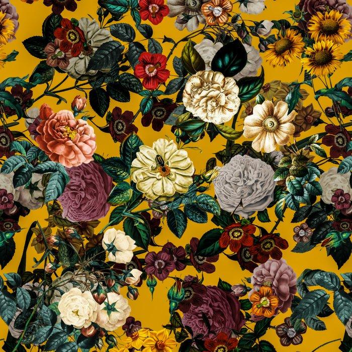 Exotic Garden V Duvet Cover