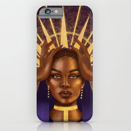 Golden Supreme iPhone Case