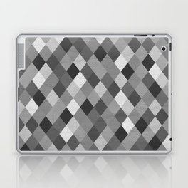 Black and White Harlequin Laptop & iPad Skin
