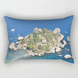 Island escape Rectangular Pillow