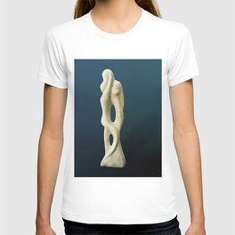 Mother and Child  by Shimon Drory T-shirt