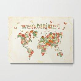 Wanderlust I Metal Print