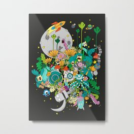 Imaginary Land Metal Print
