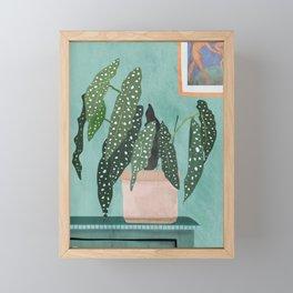 Plant 5 Framed Mini Art Print