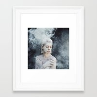 illusion Framed Art Prints featuring Illusion by Jovana Rikalo